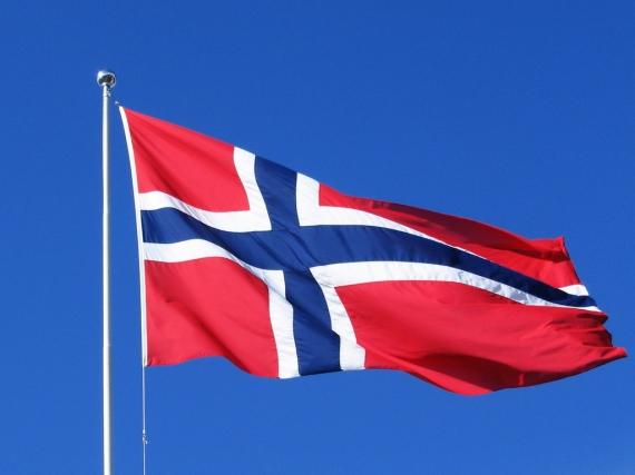 Flagga Norge