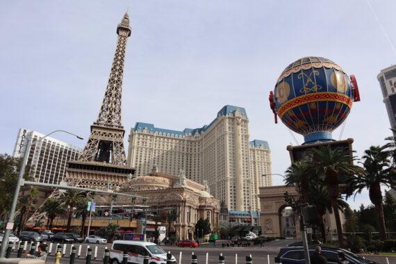 Eiffeltornet Las Vegas