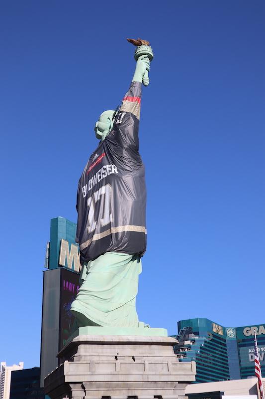 Frihetsgudinnan Las Vegas